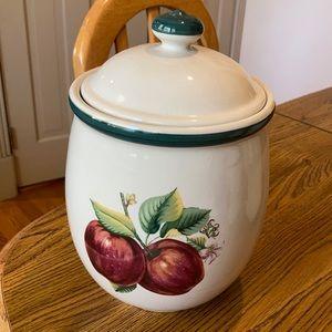 Large Ceramic Apple Container